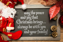 May the Peace and Joy That Christmas Brings... Always Be With You And Your Family