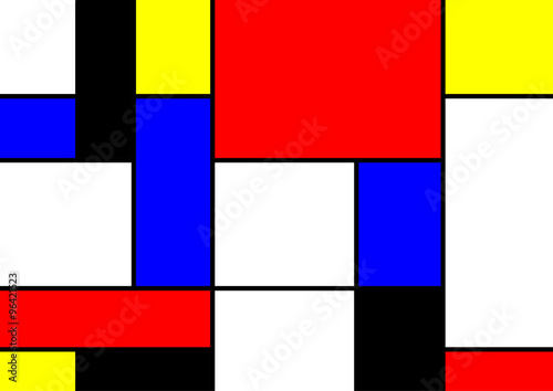 abstract geometric colorful vector pattern © puckillustrations