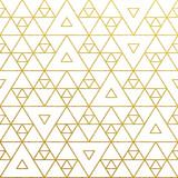 Fototapety Vector geometric gold pattern