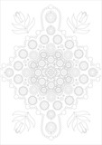 Dot painting meets mandalas