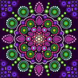 Dot painting meets mandalas 2