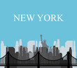 Obrazy na płótnie, fototapety, zdjęcia, fotoobrazy drukowane : United States and New York design