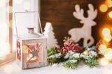 Fototapety Winterliche Dekoration