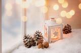 Gemütliche Weihnachtsdekoration - 96505533
