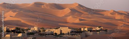 Poster Blockhouse in a dune's desert