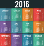 New year calendar schedule