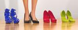 Piedi donna scarpe tacco