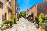 Fototapety Romantic Street In The City Of Collobrieres-France