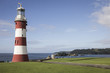 Постер, плакат: Plymouth lighthouse