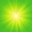 green yellow ray background