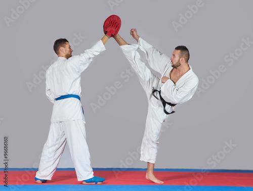 Fototapeta karate