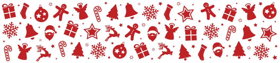 christmas pattern elements background