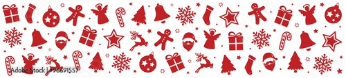 christmas pattern elements background