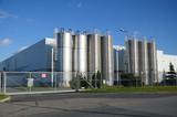 Modern factory building - 96699916
