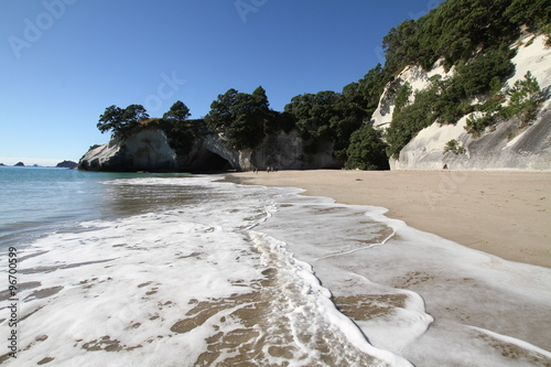 Staande foto Cathedral Cove Cathedral Cove, Neuseeland