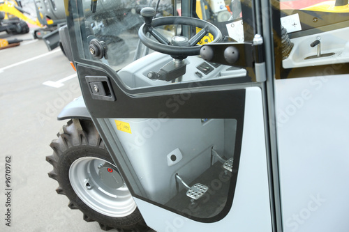 Papiers peints Nautique motorise Working place for the driver of the forklift truck