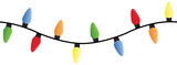 String of Christmas lights - can be placed end to end to make an endless string