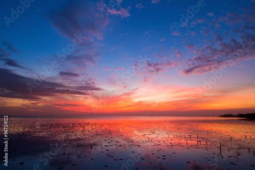 Poster sunrise
