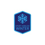 Winter Sport Logo Template