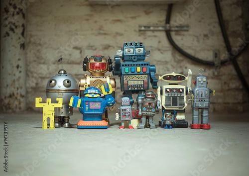 Poster Robot-Family