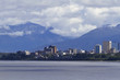 Anchorage Skyline with building signs removed