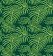Cotton fabric leaf
