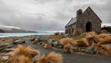 Fototapety Church of the good shepherd, Lake Tekapo, New Zealand.