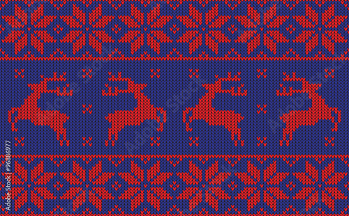 Cotton fabric christmas jumper pattern design