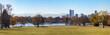 Denver Colorado City Park Panoramic Landscape
