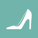 Women shoe icon