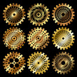 the steampunk gears