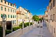 Classical dalmatian street in town of Sibenik