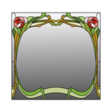 Stained glass pattern - 97142990