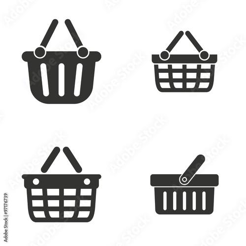 Shopping basket  icon.
