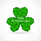 Saint Patrick Day Background Vector Illustration