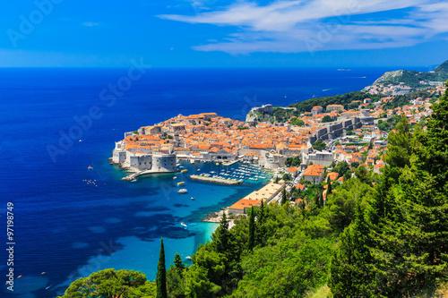 Fotobehang Vestingwerk Dubrovnik, Croatia