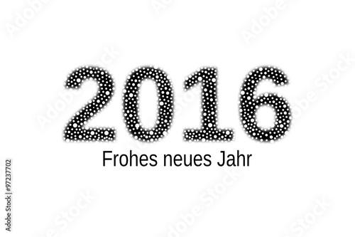 Neues Jahr 2016 Stockfoto - Bild: 52750795