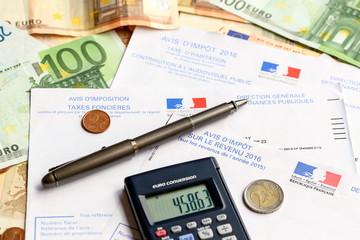 avis d'impôt sur le revenu 2016 1