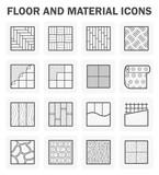 Fototapety Floor icons sets.