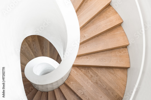 spiral staircase inside the building