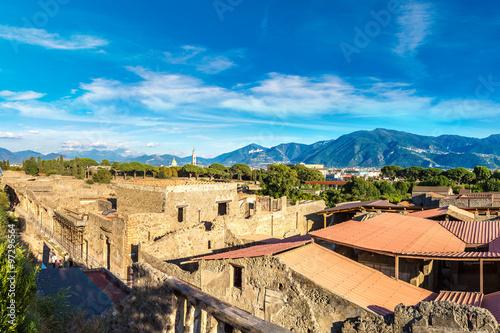 Fotobehang Marokko Pompeii city