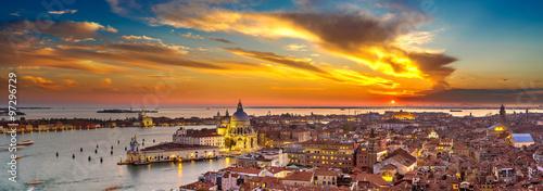 Obraz na Szkle Aerial view of Venice