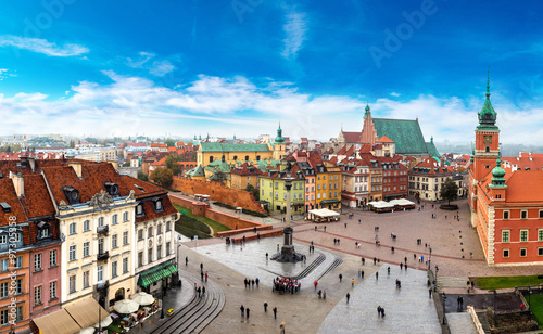 obraz PCV Panoramic view of Warsaw