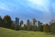Midtown Atlanta, Georgia Skyline in Piedmont Park
