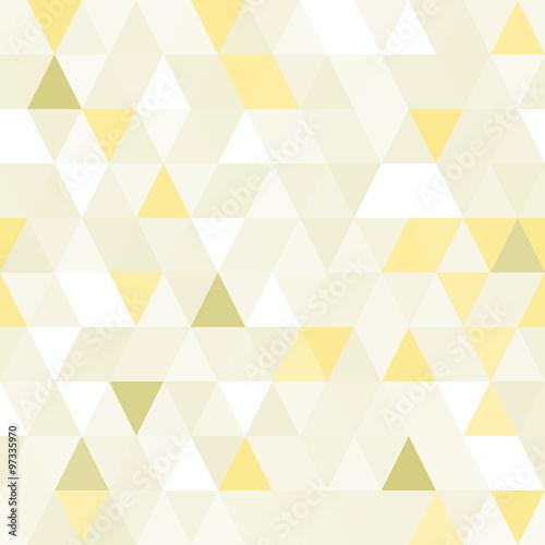 Triangular shape shimmering seamless pattern. - 97335970