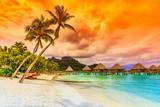 Bora Bora, French Polynesia. - 97382564