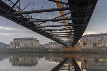 Fototapeta most w Krakowie nad Wisłą