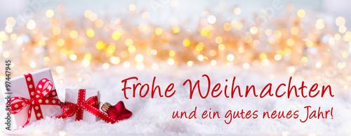Frohe Weihnachten und ein gutes neues Jahr! Grußkarte, Weihnachtskarte