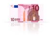 Ten euro banknote