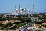 Sheikh Zayed Grand Mosque, Abu Dhabi, United Arab Emirates